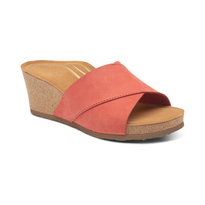 Cora Slide-On Wedge