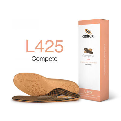 Women's Compete Posted Orthotics W/ Metatarsal Support