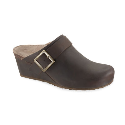 Amelia Wedge Cork Clog