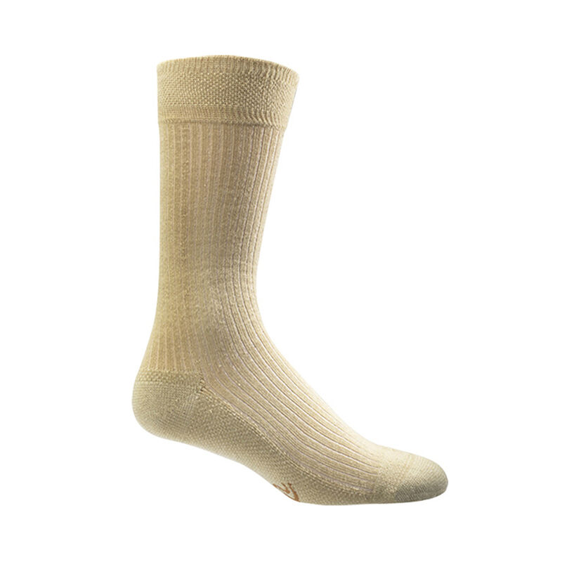 Copper Sole Dress/Casual Crew Socks - Men