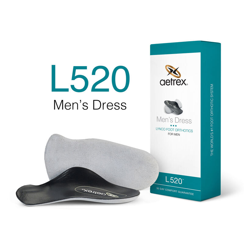 Dress Flat/Low Arch Orthotics For Men