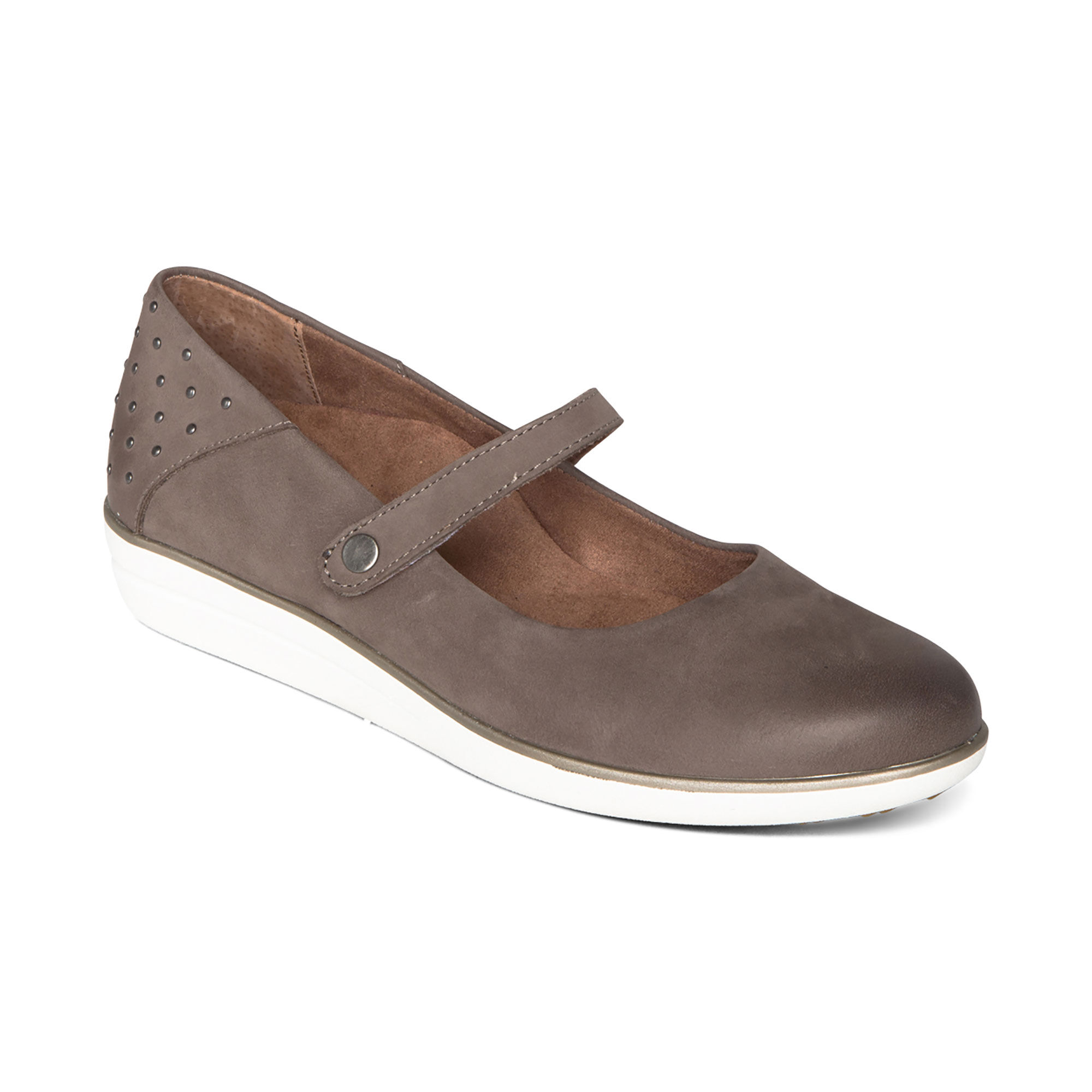 Comfort Mary Janes with Arch Support