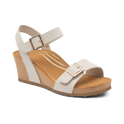 Lexa Quarter Strap Wedge