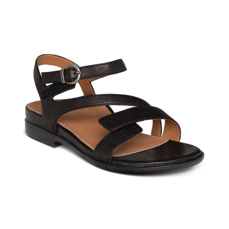 Tia Adjustable Quarter Strap Sandal
