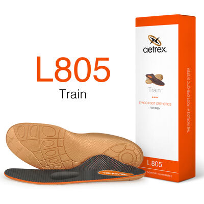 Men's Train Orthotics W/ Metatarsal Support