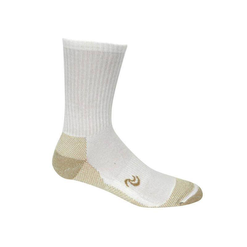 Copper Sole Athletic Crew Socks - Men