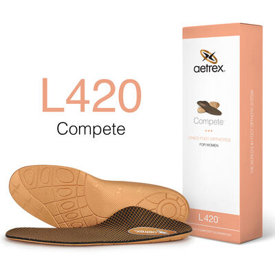 Women's Compete Posted Orthotics