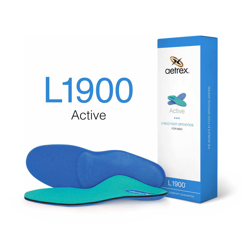 Active Med/High Arch Orthotics For Men