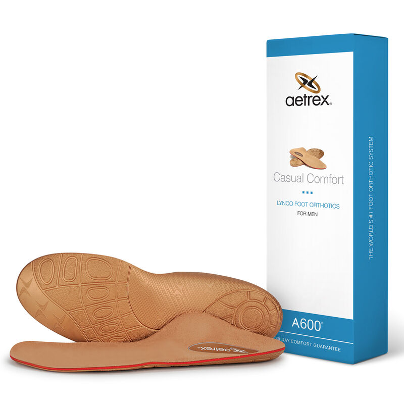 Casual Orthotics For Men - Insole for Everyday Shoes