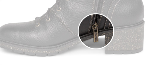Aetrex Shoe Features - Side Zipper