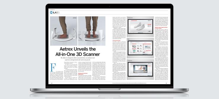 As Featured In Footwear News