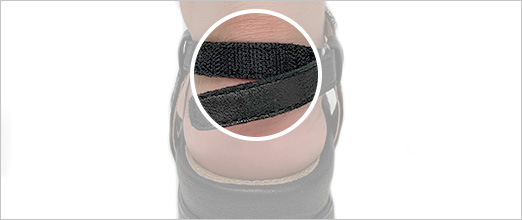 Heel Adjustability