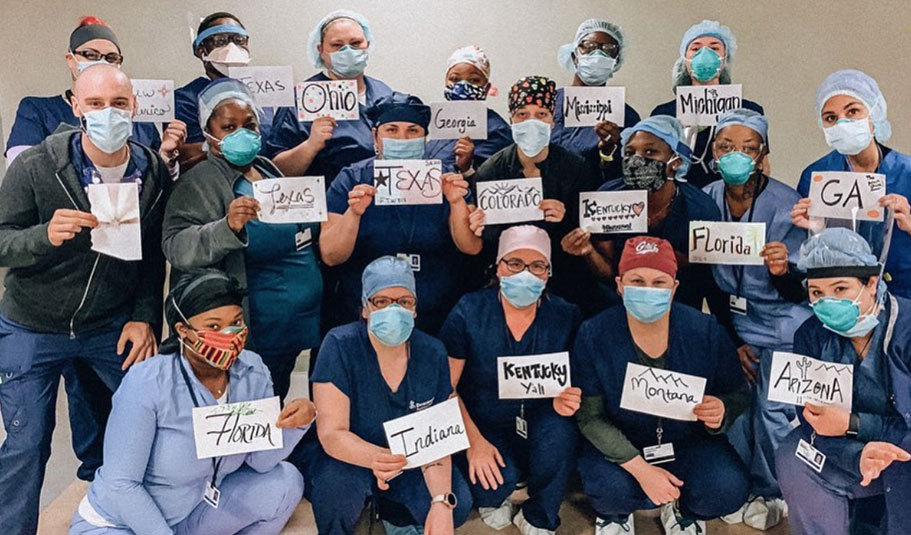 Nurses during Covid-19
