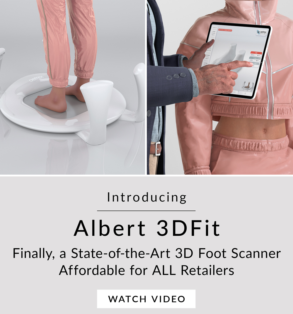 Introduction of the Albert 3DFit Scanner by Aetrex