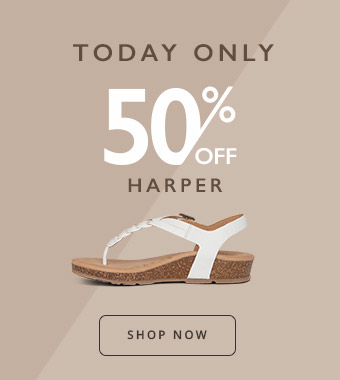 Shop Aetrex Harper Flash Sale