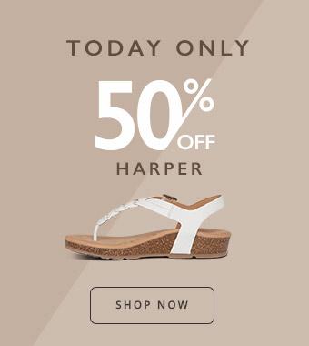 Shop Aetrex Harper Flash Sale
