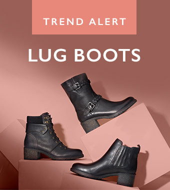 Shop Lug Boots With Arch Support