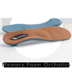 Aetrex Memory Foam Orthotics