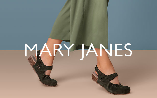 Aetrex Mary Janes