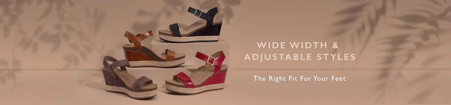 Shop Wide Width Footwear