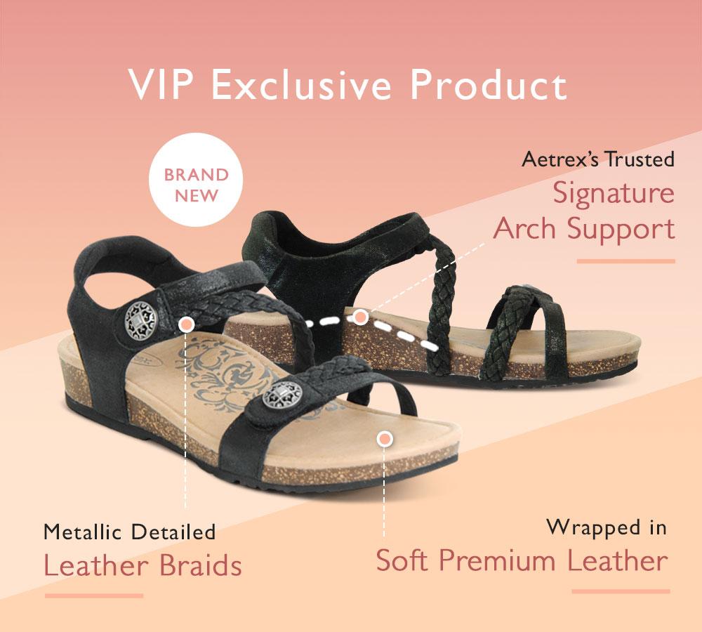 Shop Aetrex Premium Jillian Sandal
