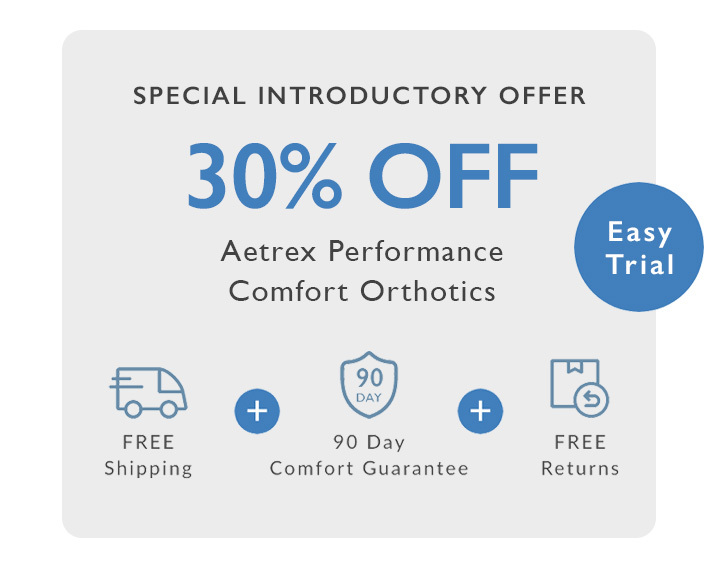 Aetrex Essentials Collection - Introductory Offers
