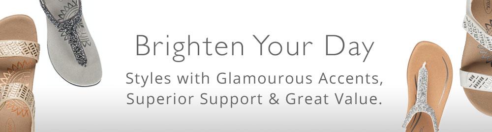 Shop Aetrex Glam Styles