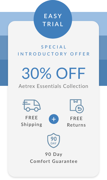 Aetrex Essentials Collection Introductory Offer - 30% OFF