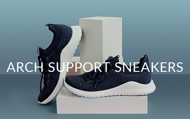 Aetrex Arch Support Sneakers
